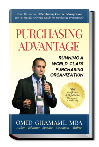 3D Version of Purchasing Advantage Book Cover